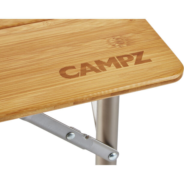 CAMPZ Bambus Falttisch 80x60x65cm braun