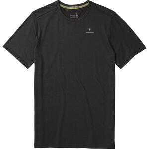 Smartwool Merino Sport 150 Logo Kurzarm T-Shirt Herren black black