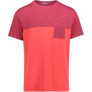 Meru Trikala Jersey SS Shirt Herren rhubarb rhubarb