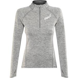 inov-8 Train Elite Mid LS Zip Langarmshirt Damen light grey light grey