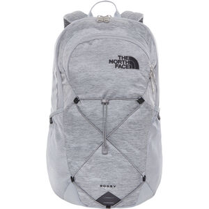 The North Face Rodey Backpack mid grey dark heather/tnf black mid grey dark heather/tnf black