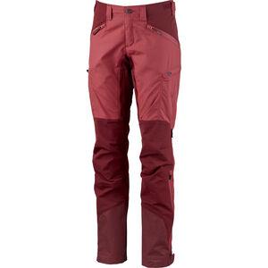 Lundhags Makke Pants Damen garnet/dark red garnet/dark red