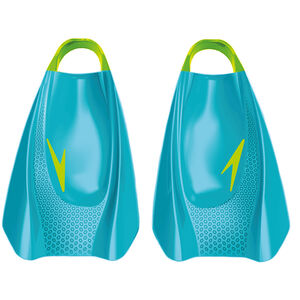 speedo Fury Training Flossen blue/green blue/green