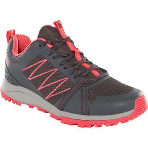The North Face Litewave Fastpack II Schuhe Damen ebony grey/atomic pink ebony grey/atomic pink