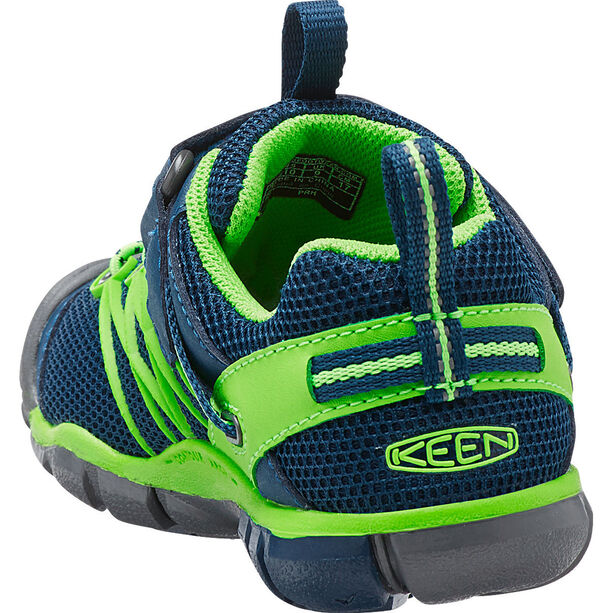 Keen Chandler CNX Shoes Kinder poseidon/jasmine green