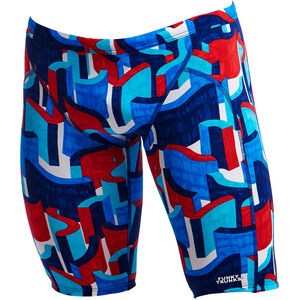 Funky Trunks Training Jammers Herren block rock block rock