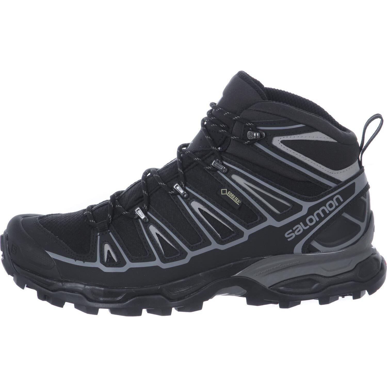 Salomon X Ultra Mid 2 Spikes GTX Schuhe Herren blackblackaluminium