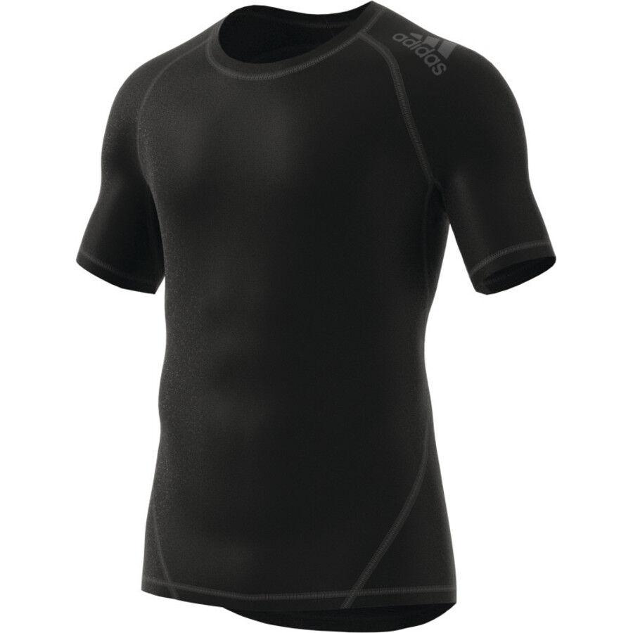 adidas Alphaskin Sport SS Tee Herren black