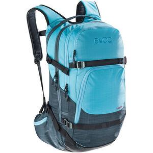 EVOC Line Backpack 28l heather slate-heather neon blue heather slate-heather neon blue