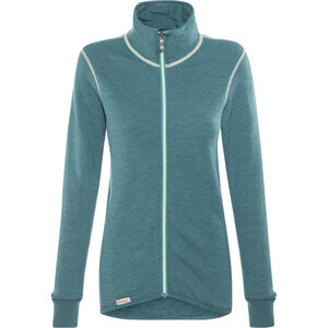 Woolpower 400 Colour Collection Full-Zip Jacket petrol/champagne petrol/champagne
