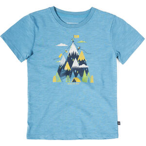 United By Blue Summit SS Graphic T-Shirt Jugend ripple blue ripple blue