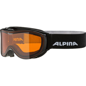 Alpina Challenge 2.0 Doubleflex S2 Goggles black transparent black transparent