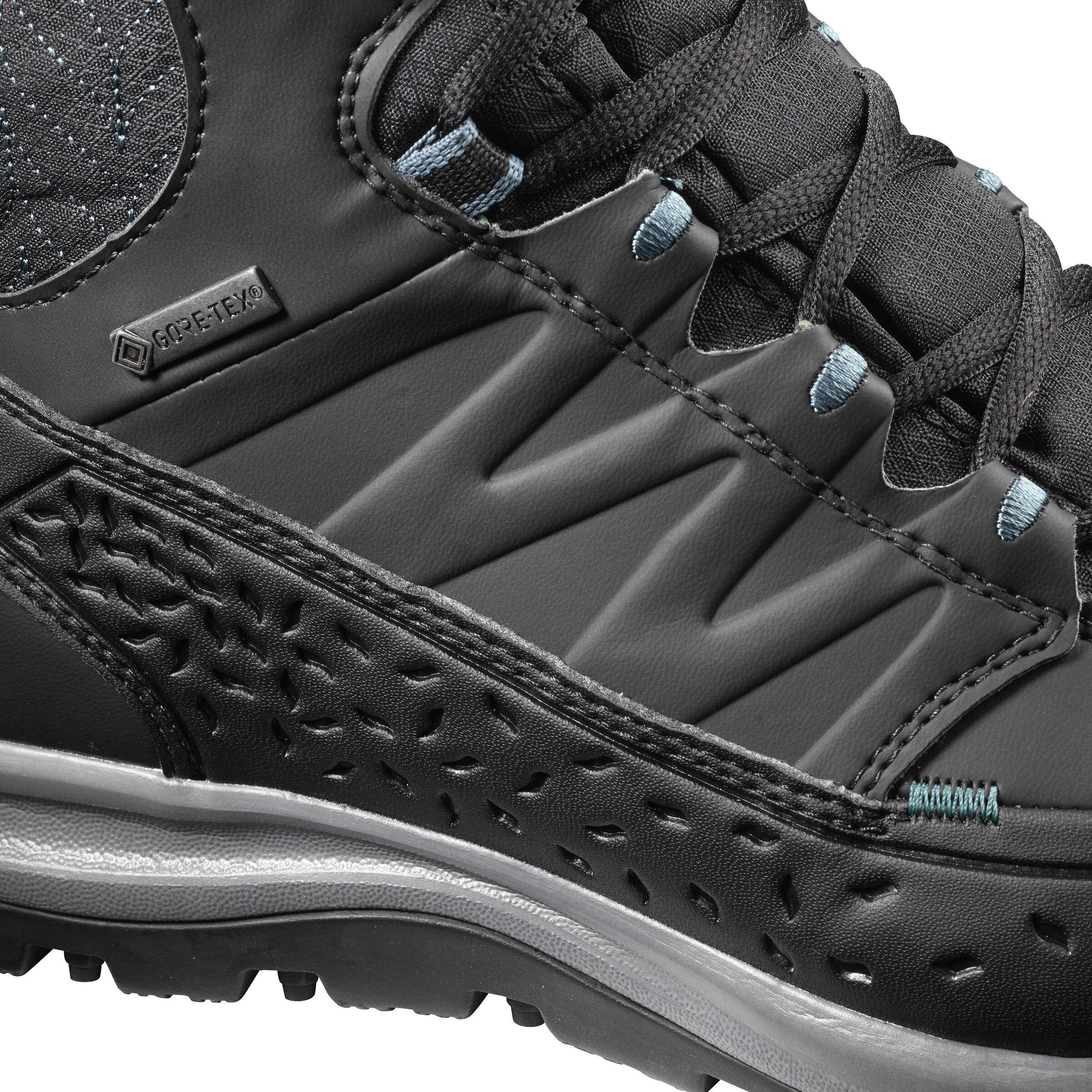 Salomon Kaïpo Mid GTX Shoes Damen phantomblackhydro.