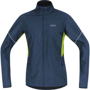 GORE WEAR R3 Partial Gore Windstopper Jacket Herren deep water blue/citrus green deep water blue/citrus green