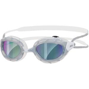 Zoggs Predator Brille grey/white/mirror