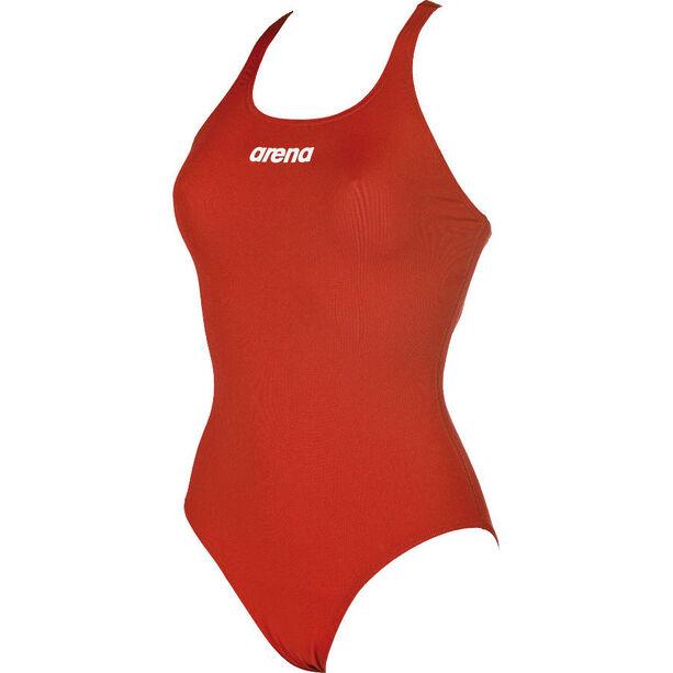 arena Solid Swim Pro One Piece Swimsuit Damen red-white