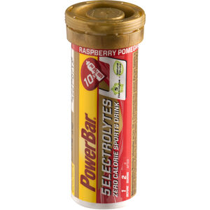 PowerBar 14 Electrolytes Zero Calorie Sports Drink Tabs 10 Stück Rasperry-Pomgranate