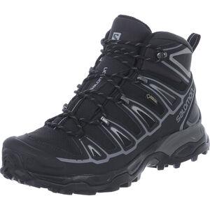 Salomon X Ultra Mid 2 Spikes GTX Schuhe Herren black/black/aluminium black/black/aluminium