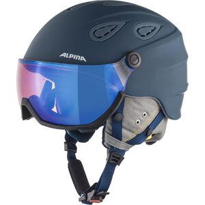 Alpina Grap Visor 2.0 HM Ski Helmet ink-grey matt ink-grey matt