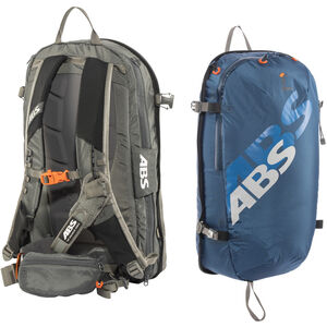 ABS s.LIGHT Compact Base Unit + s.LIGHT Compact Zip-On 15l Backpack glacier blue glacier blue