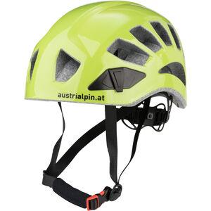 AustriAlpin Helm.ut Kletterhelm grün eloxiert grün eloxiert