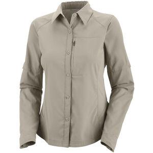 Columbia Silver Ridge Longsleeve Shirt Damen fossil