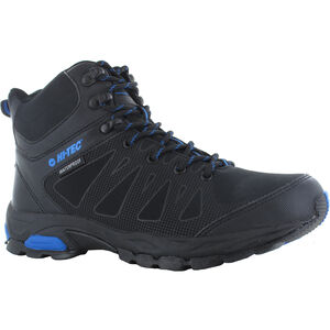 Hi-Tec Raven WP Mid-Cut Schuhe Herren black/blue black/blue