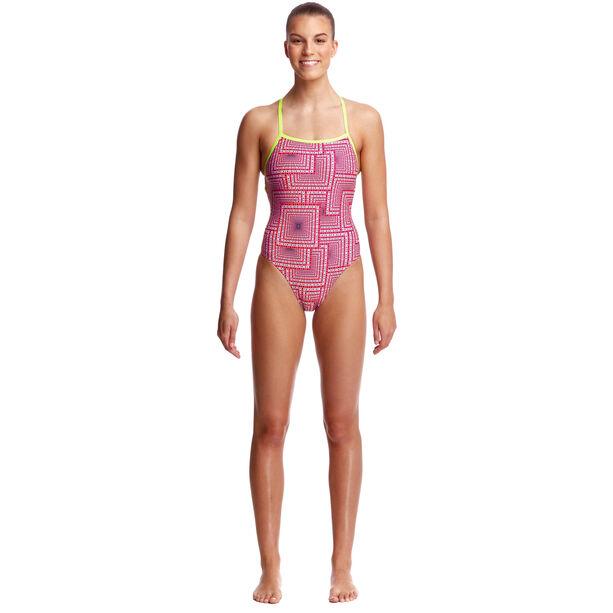Funkita Strapped In One Piece Swimsuit Damen swim spin