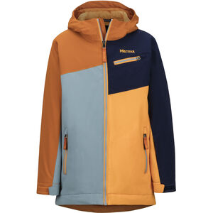 Marmot Thunder Jacke Jungs blue granite/hawaiian sunset blue granite/hawaiian sunset
