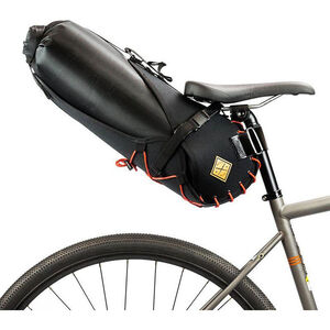 Restrap Big Saddlebag with Dry Bag 14L black/orange black/orange