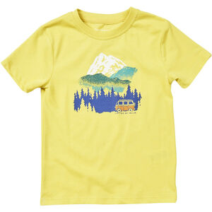 United By Blue Get Away Ride SS Graphic Tee Kinder citron yellow citron yellow