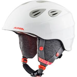 Alpina Grap 2.0 Ski Helmet Kinder white-flame white-flame