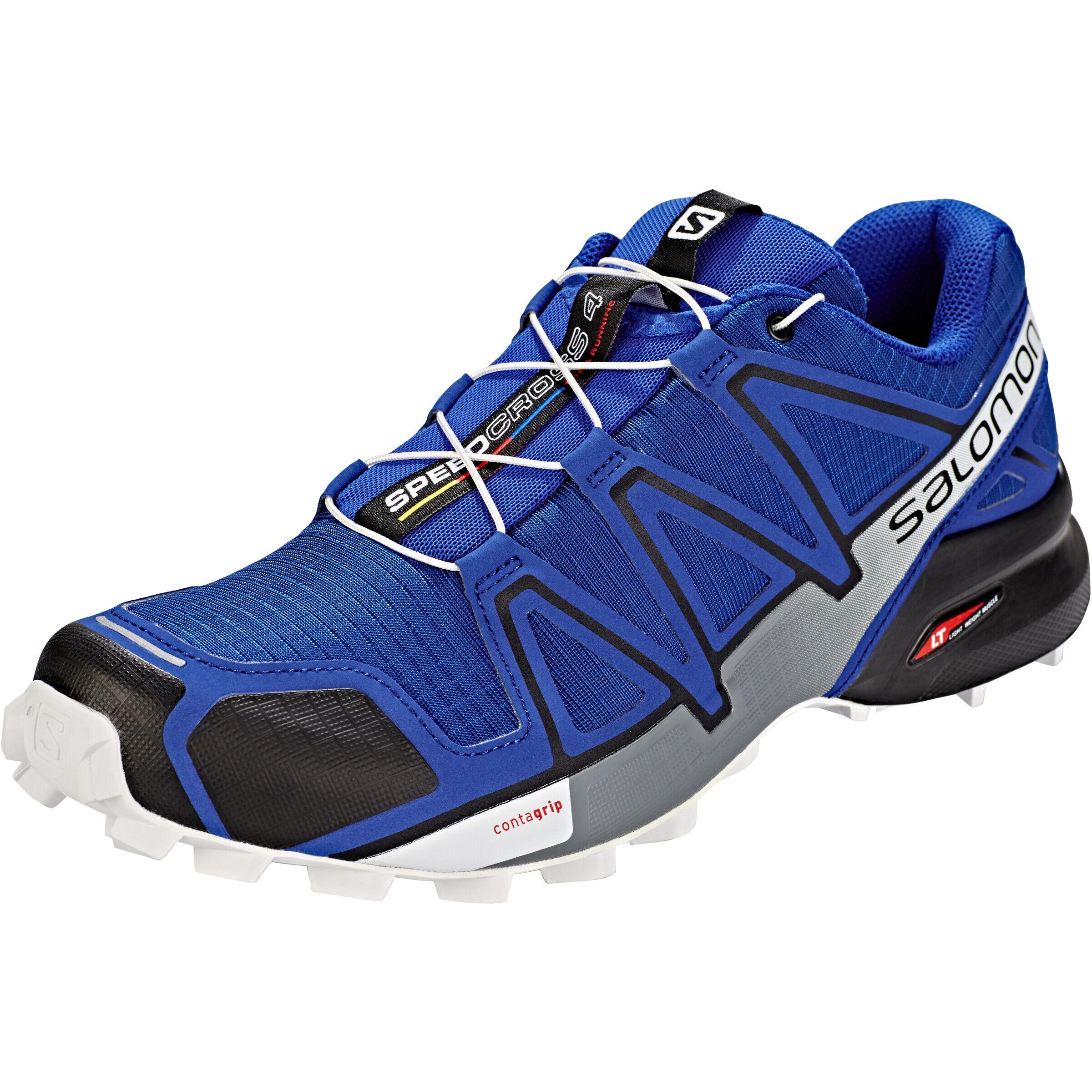 Salomon Speedcross 4 Schuhe Herren mazarine blue wilblackwhite