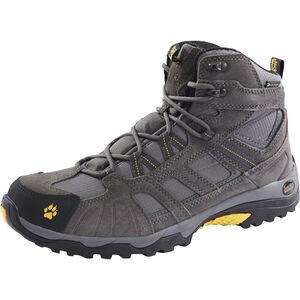 Jack Wolfskin Vojo Hike Mid Texapore Schuhe Herren burly yellow