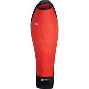 Mountain Hardwear Lamina Sleeping Bag -1°C Long Damen poppy red poppy red