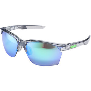 100% Sportcoupe Multilayer Mirror Glasses polished transl. crystal grey polished transl. crystal grey