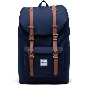 Herschel Little America Mid-Volume Backpack 17l peacoat/saddle brown peacoat/saddle brown