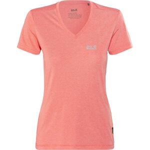 Jack Wolfskin Crosstrail T-Shirt Damen flamingo flamingo