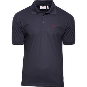 Fjällräven Crowley Piqué Shirt Herren blueblack blueblack