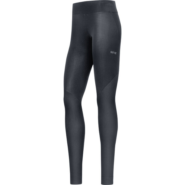 GORE WEAR R3 Partial Gore Windstopper Tights Damen black