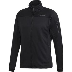 adidas TERREX Stockhorn Fleece Jacket Herren black black