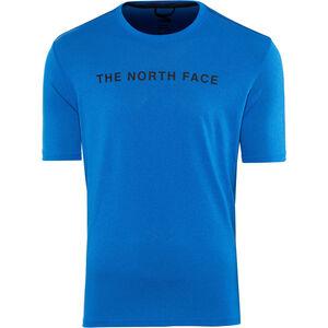 The North Face Train N Logo SS Tee Herren bomber blue heather bomber blue heather