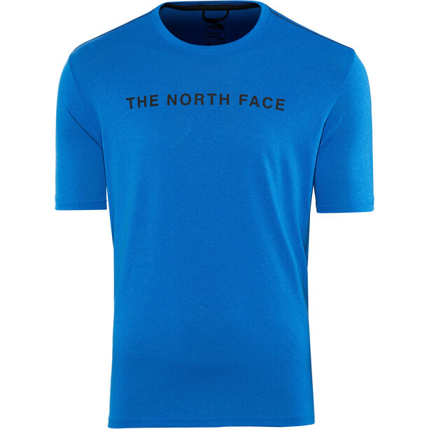 The North Face Train N Logo SS Tee Herren bomber blue heather