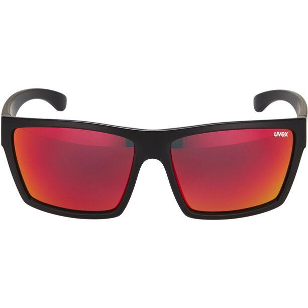 UVEX LGL 29 Glasses black mat/red