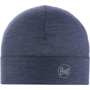 Buff Lightweight Merino Wool Hat solid denim solid denim