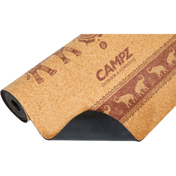 CAMPZ Cork Elephant Yoga Matte L brown