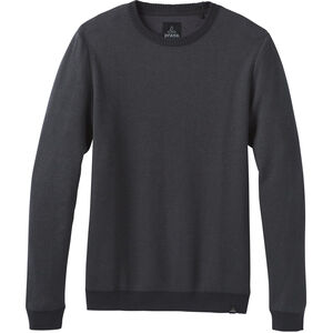 Prana Vertawn Sweater Herren charcoal heather charcoal heather