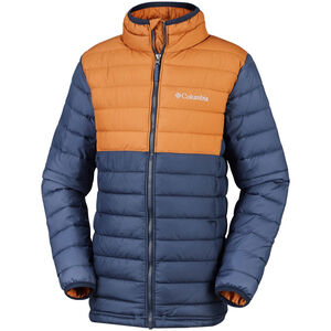 Columbia Powder Lite Jacke Jungs collegiate navy/canyon gold collegiate navy/canyon gold
