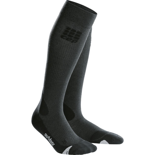 cep Pro+ Outdoor Merino Socks Herren grey/black