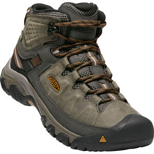 Keen Targhee III Mid WP Schuhe Herren black olive/golden brown